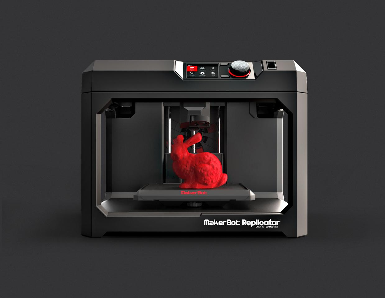 The MakerBot Replicator is the company's prosumer offering, a blend of professional printing at a consumer price
