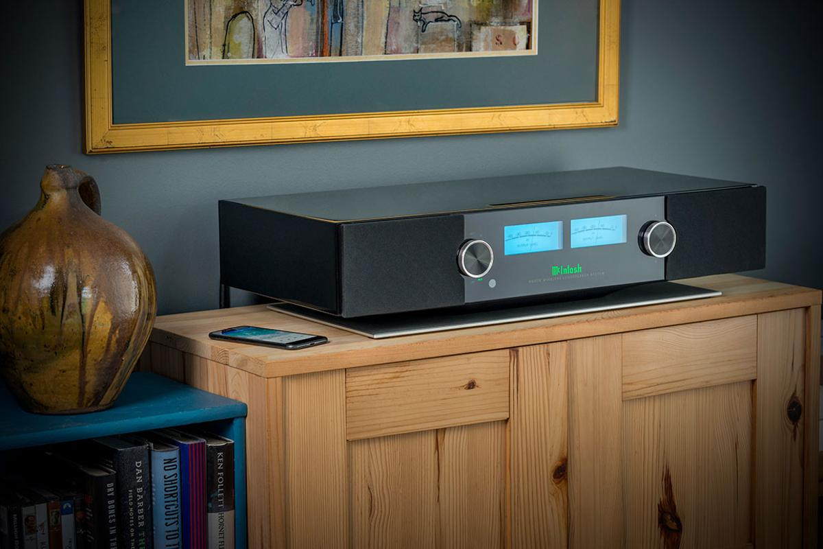 The RS200 Wireless Loudspeaker System from McIntosh Labs