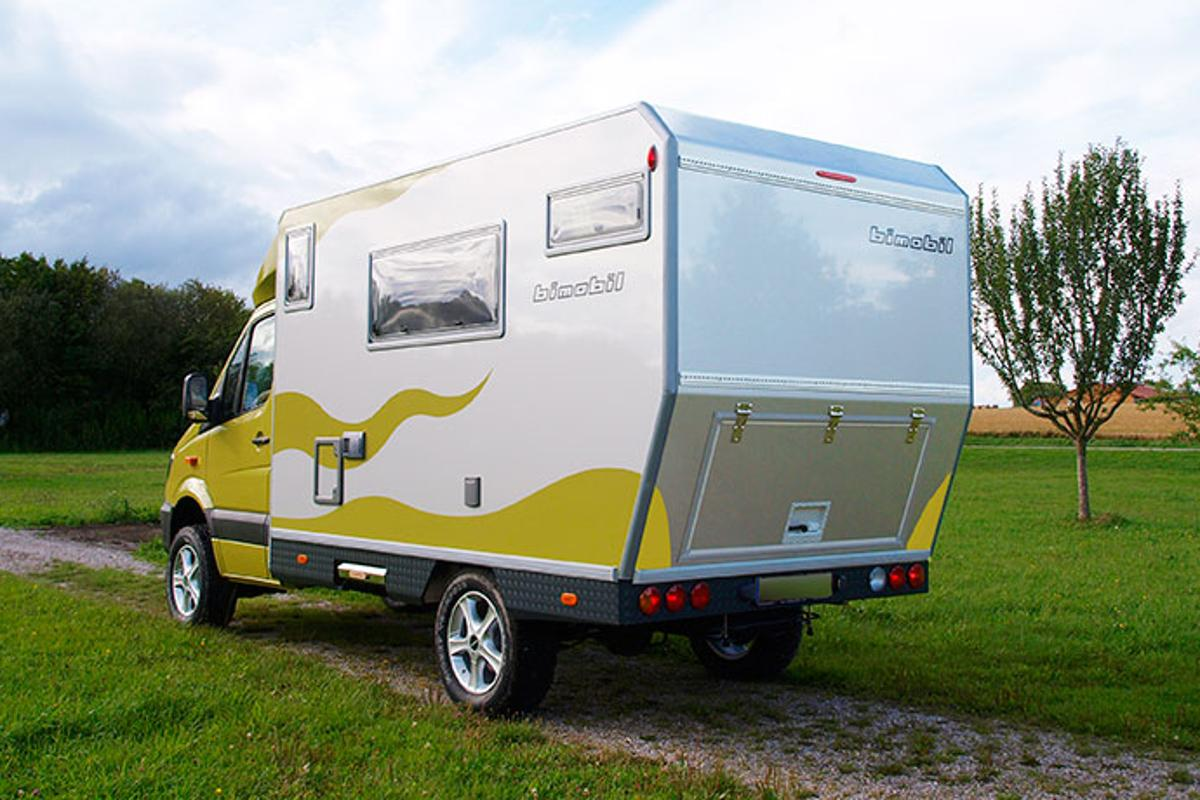 The EX 366 is the latest expedition vehicle in Bimobil's line