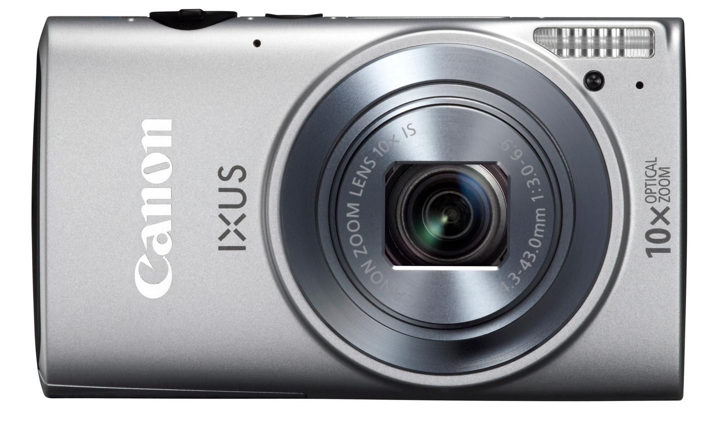 The Canon IXUS 255 HS (ELPH 330 HS) boasts Wi-Fi sharing and GPS via your smartphone