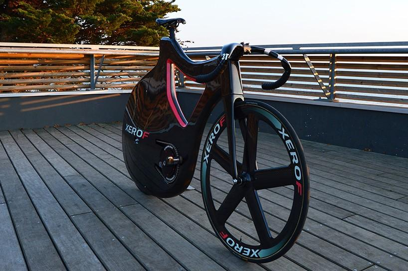The Pluma Track Bike was first conceived of in 2010