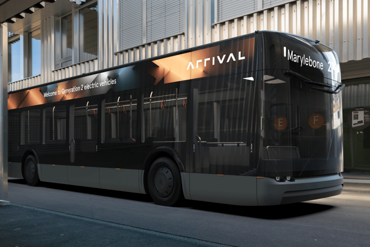Arrival believes it will provide a smarter, cleaner bus for future public transportation