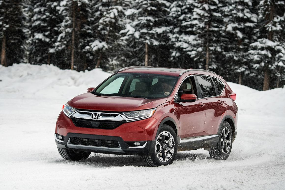 The 2018 Honda CR-V is no wallflower when it comes to capability