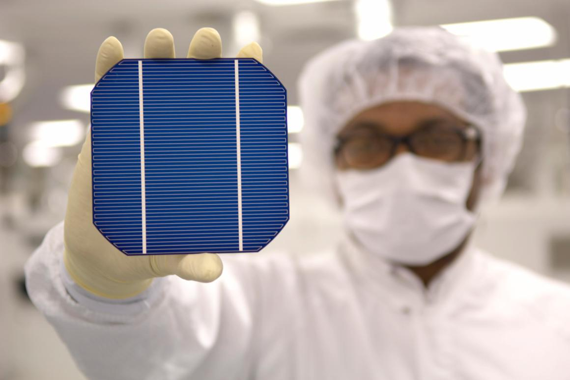 Record 19 Percent Efficiency Achieved With Low Cost Solar