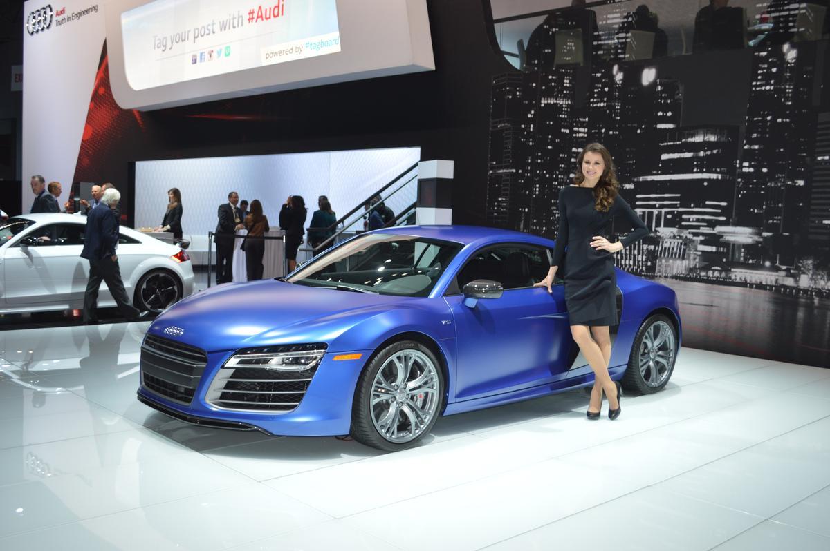 2014 Audi R8 V10 Plus