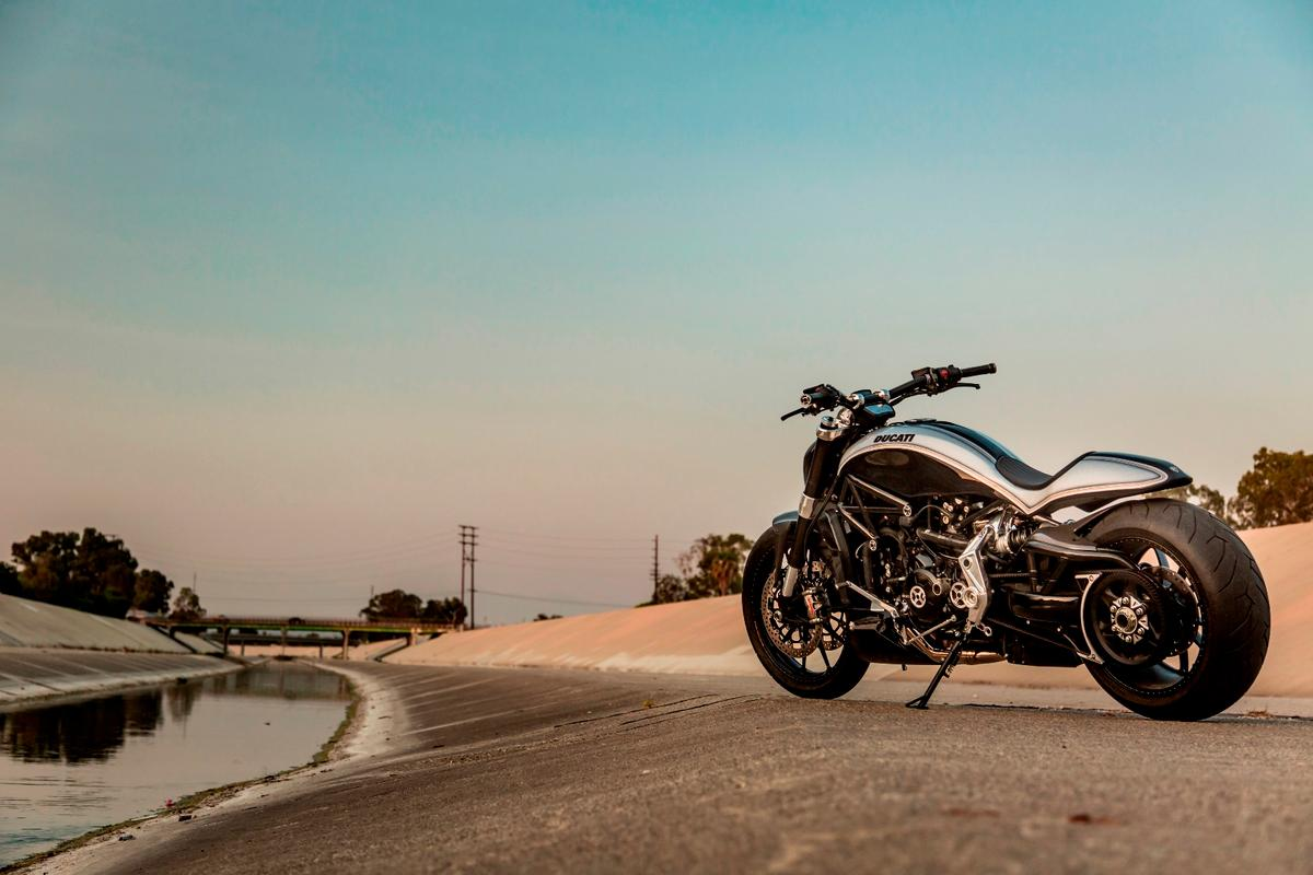 XDiavel by Roland Sands: a subtle California twist on an Italian-American design by Ducati