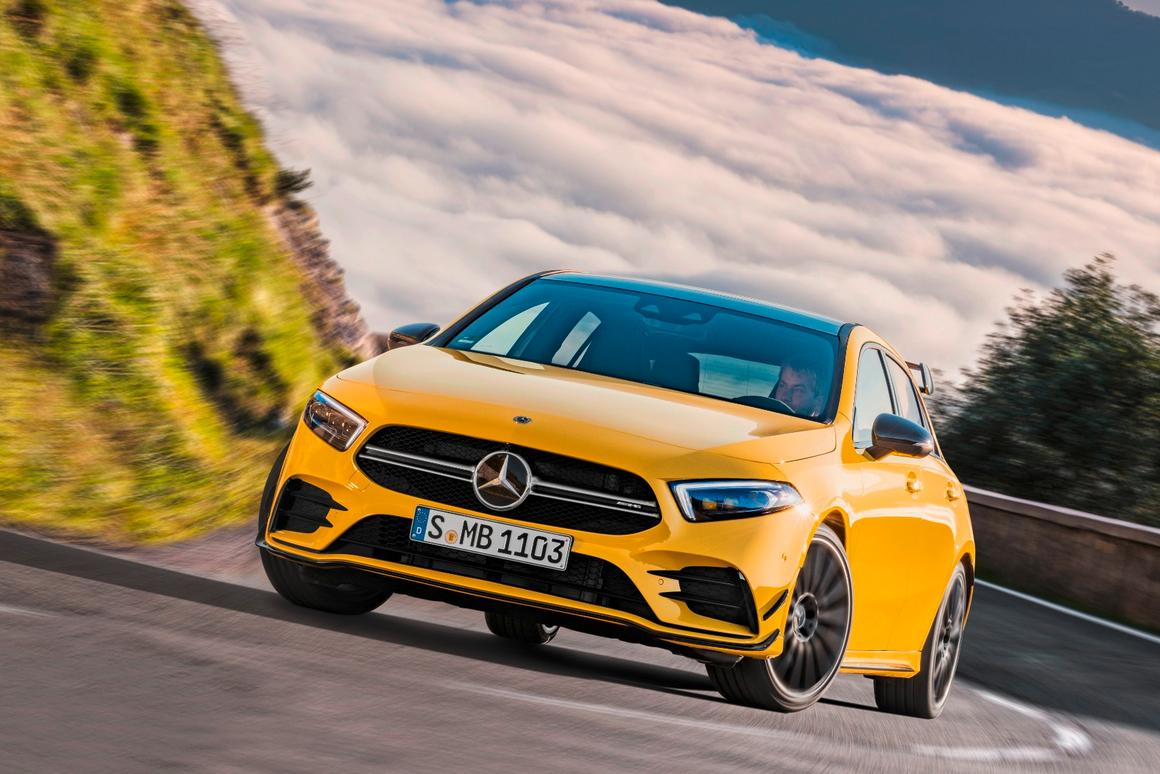 The Mercedes-AMG A 35 4Matic isthe new entry level to the AMG world in the form of a hot hatch with youthful attitude