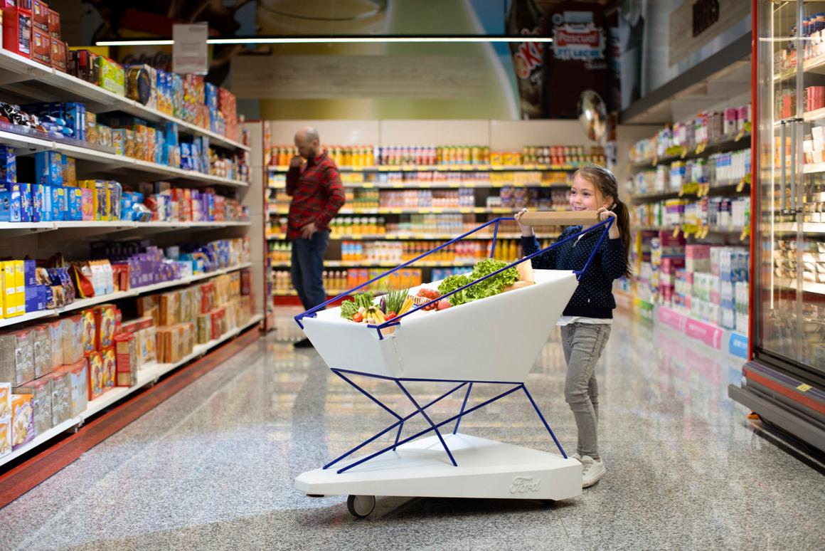 There are currently no plans to manufacture the Self-Braking Trolley