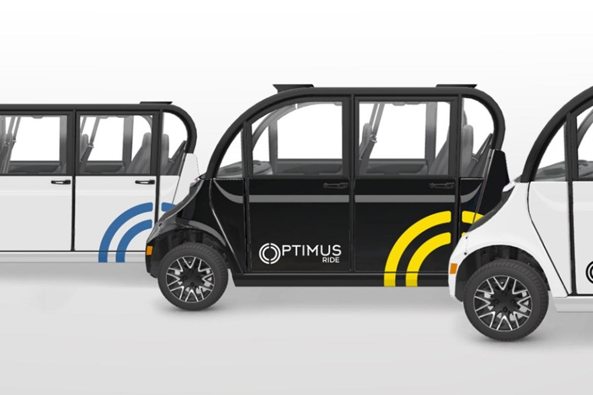 Optimus Ride will be deploying self-driving shuttles to a business park in Brooklyn and a gated community in California later this year
