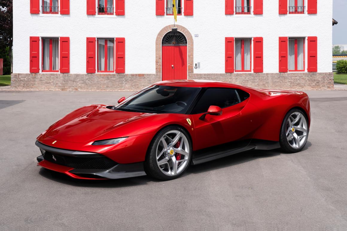 The Ferrari SP38 is a one-off creation for a mystery client