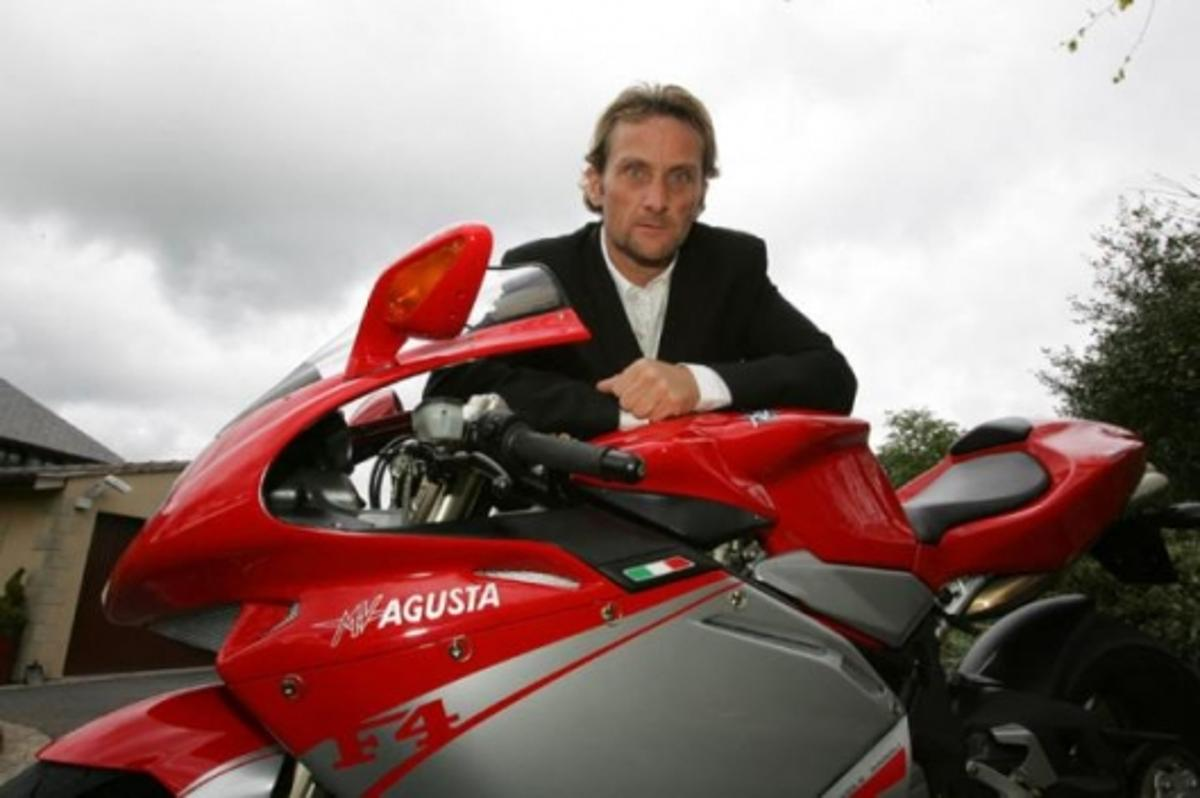 Carl Fogarty, who will run the factory-supported Mv Agusta team in the 2008 World Superbike Championship.