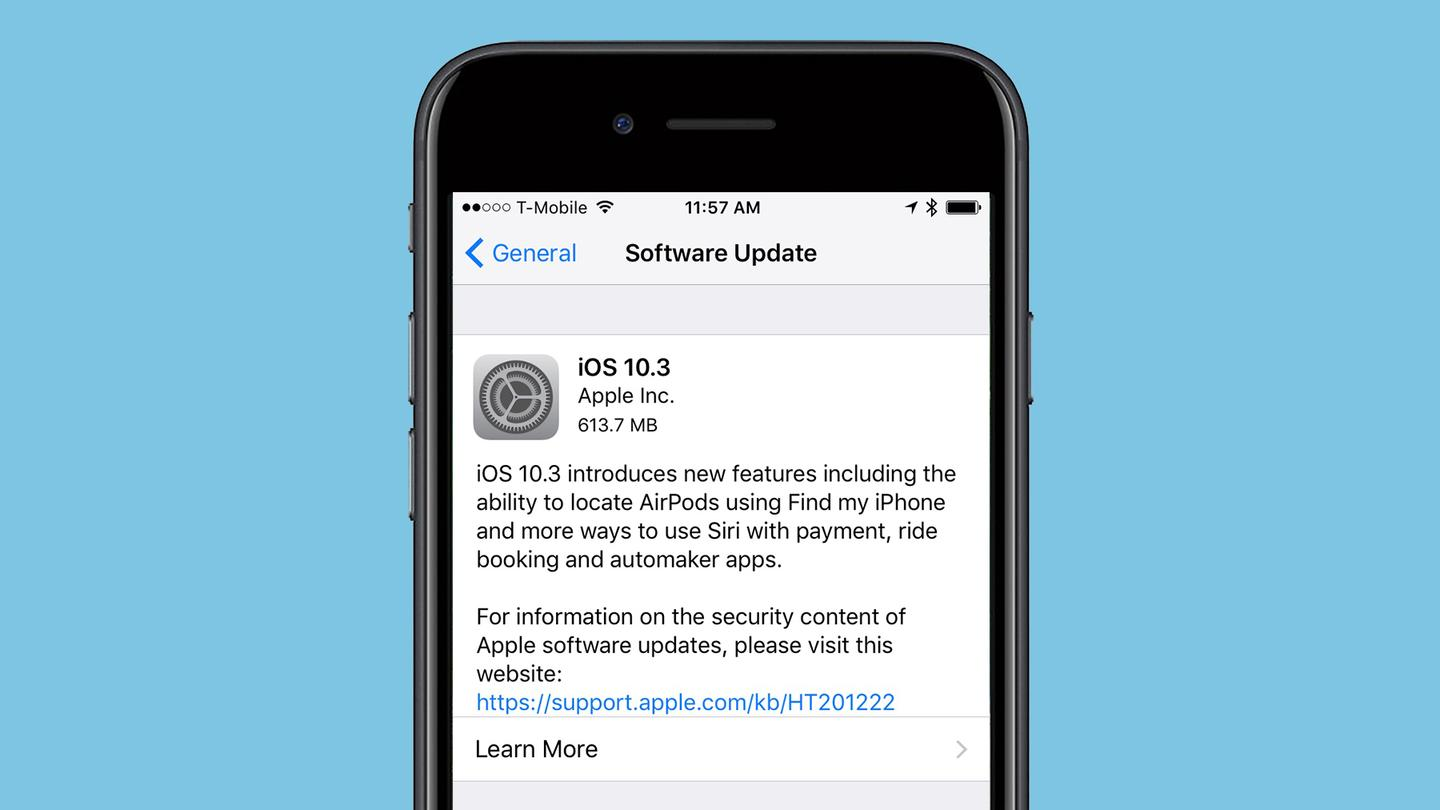 Today, Apple released iOS 10.3 and watchOS 3.2