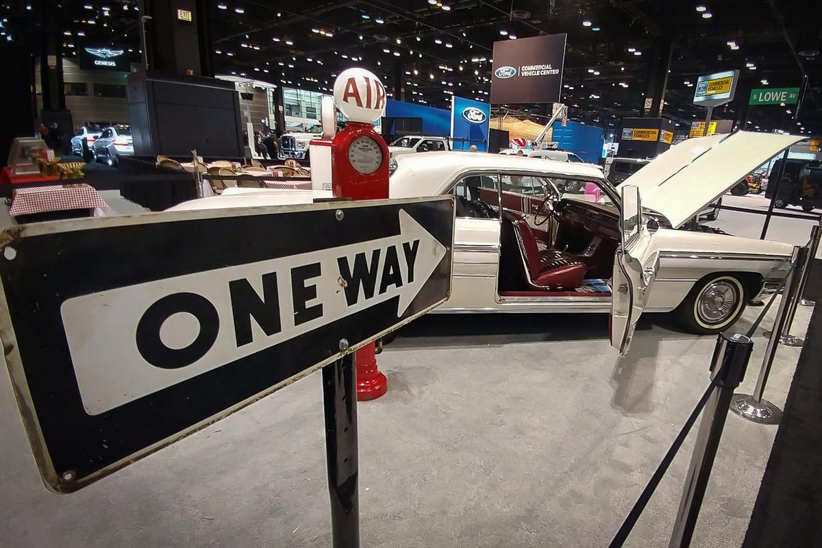 On for young and old:AclassicFairlane adds a touch ofnostalgia to the 2019 the Chicago Auto Show