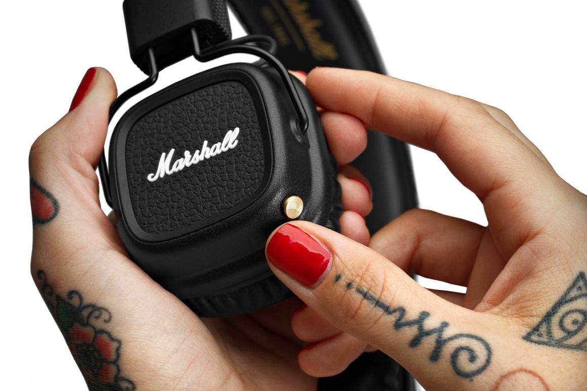 The Major II Bluetooth headphones from Marshall