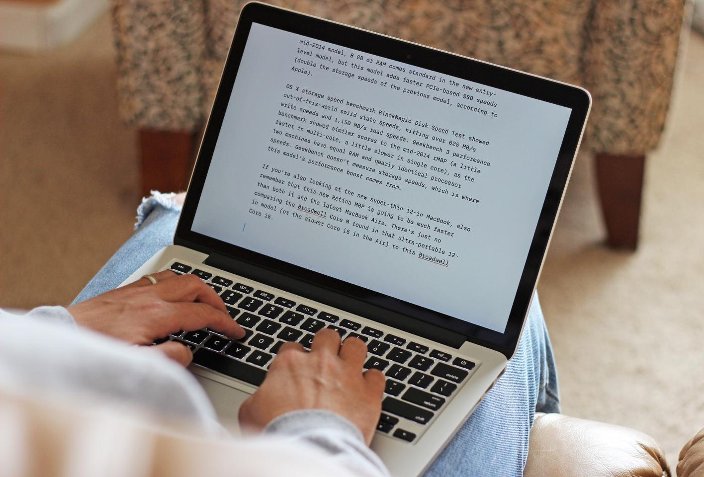 The 13-inch MacBook Pro with Retina Display