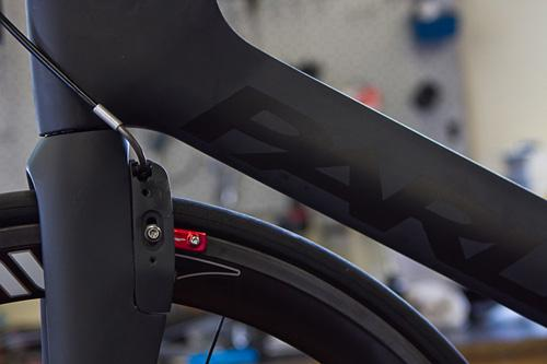 The PXP bicycle features a full carbon fiber frame