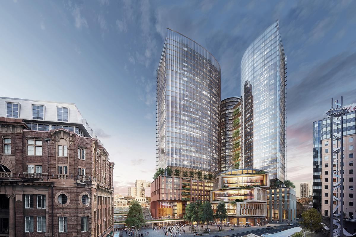 Central Place Sydney is being developed by Dexus and Frasers Property Australia. There's no word yet on when construction is expected to begin