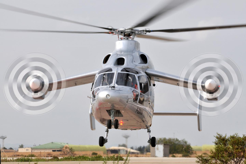 Eurocopter's X3 demonstrator