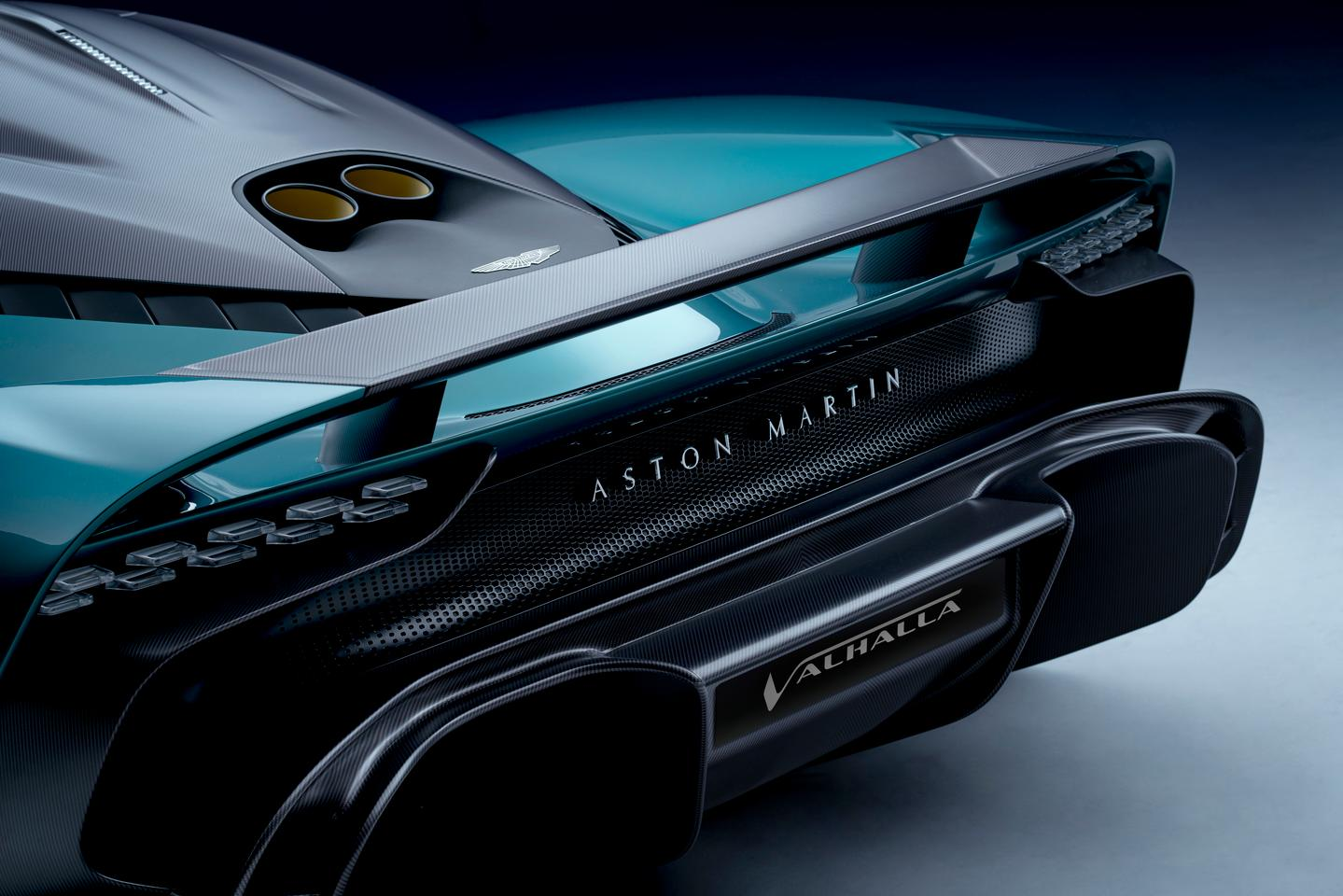 In terms of aerodynamics, the Valhalla takes its lead from Aston Martin's Valkyrie hypercar