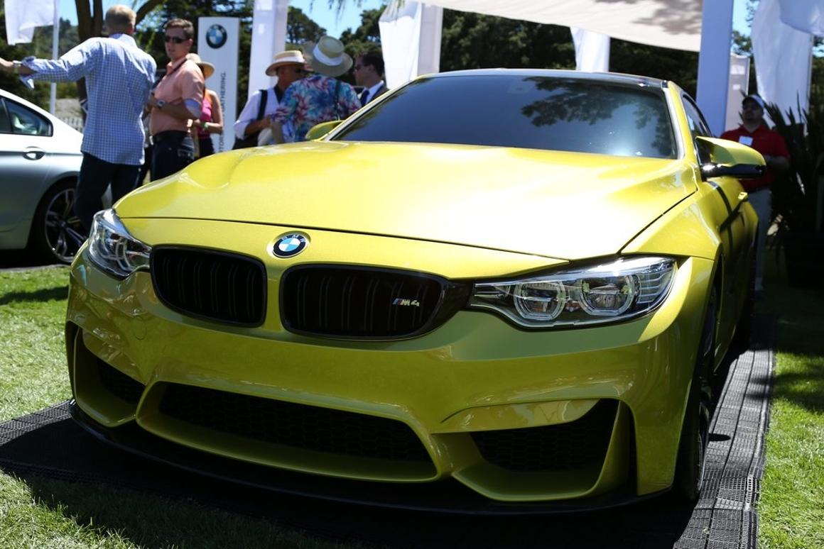 The BMW Concept M4 Coupe unveiled (Photo: Angus MacKenzie / Gizmag)