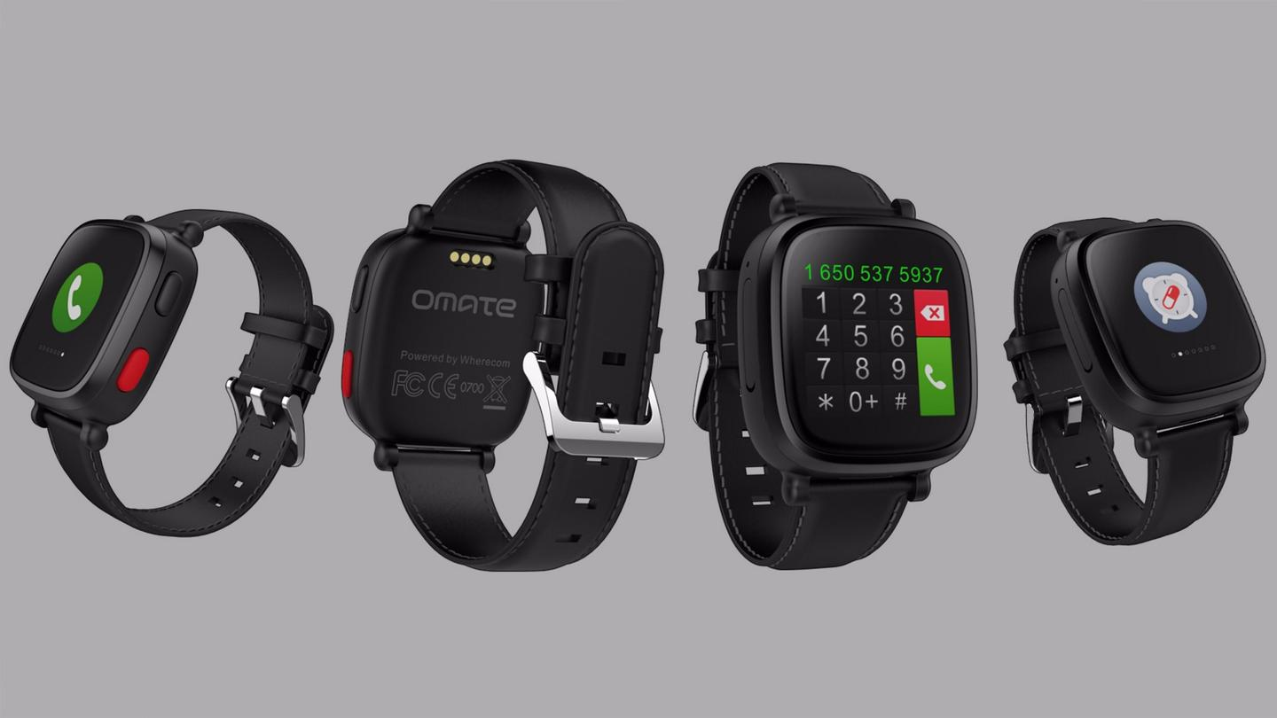 The Omate Wherecom S3 is a standalone wearable aimed squarely at seniors