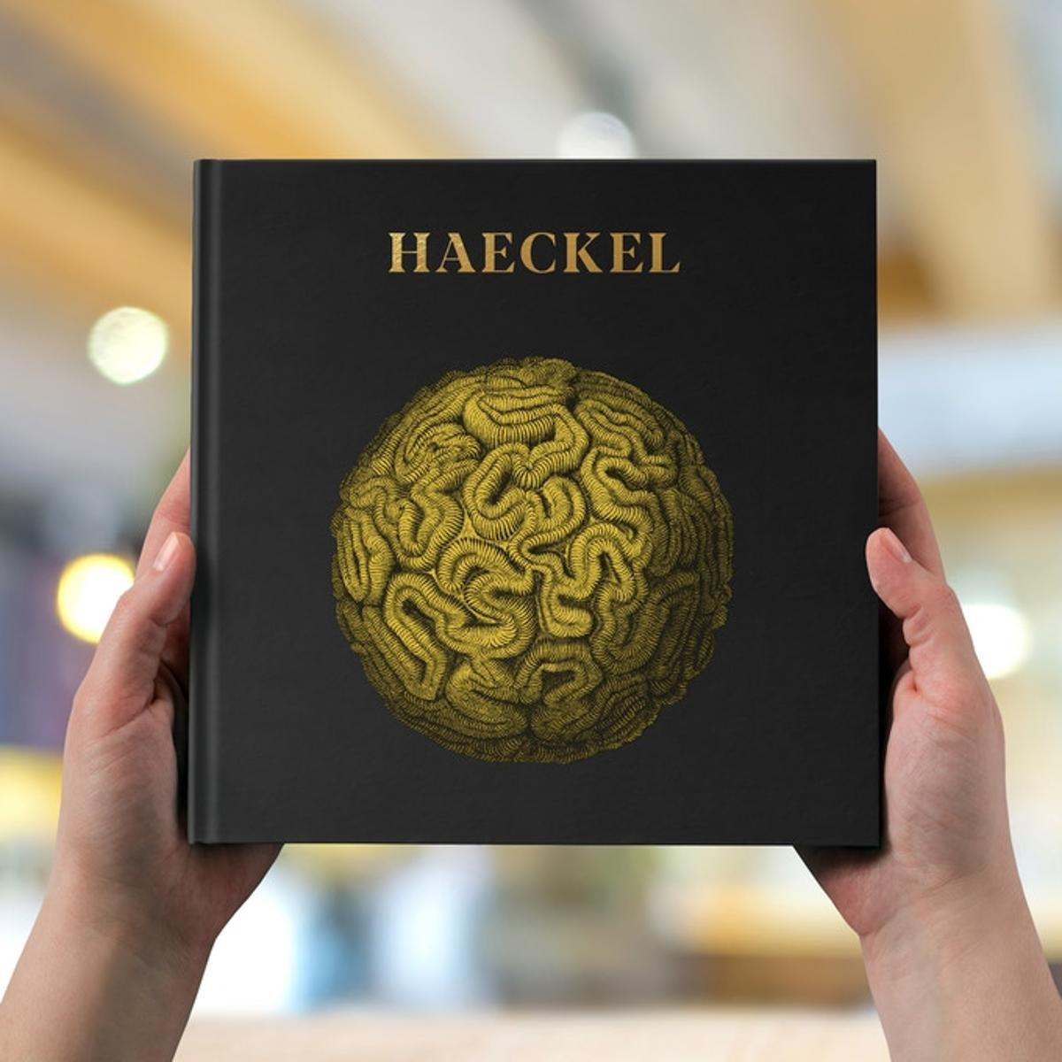 The black hard cover version boasts a gold hot foil stamp