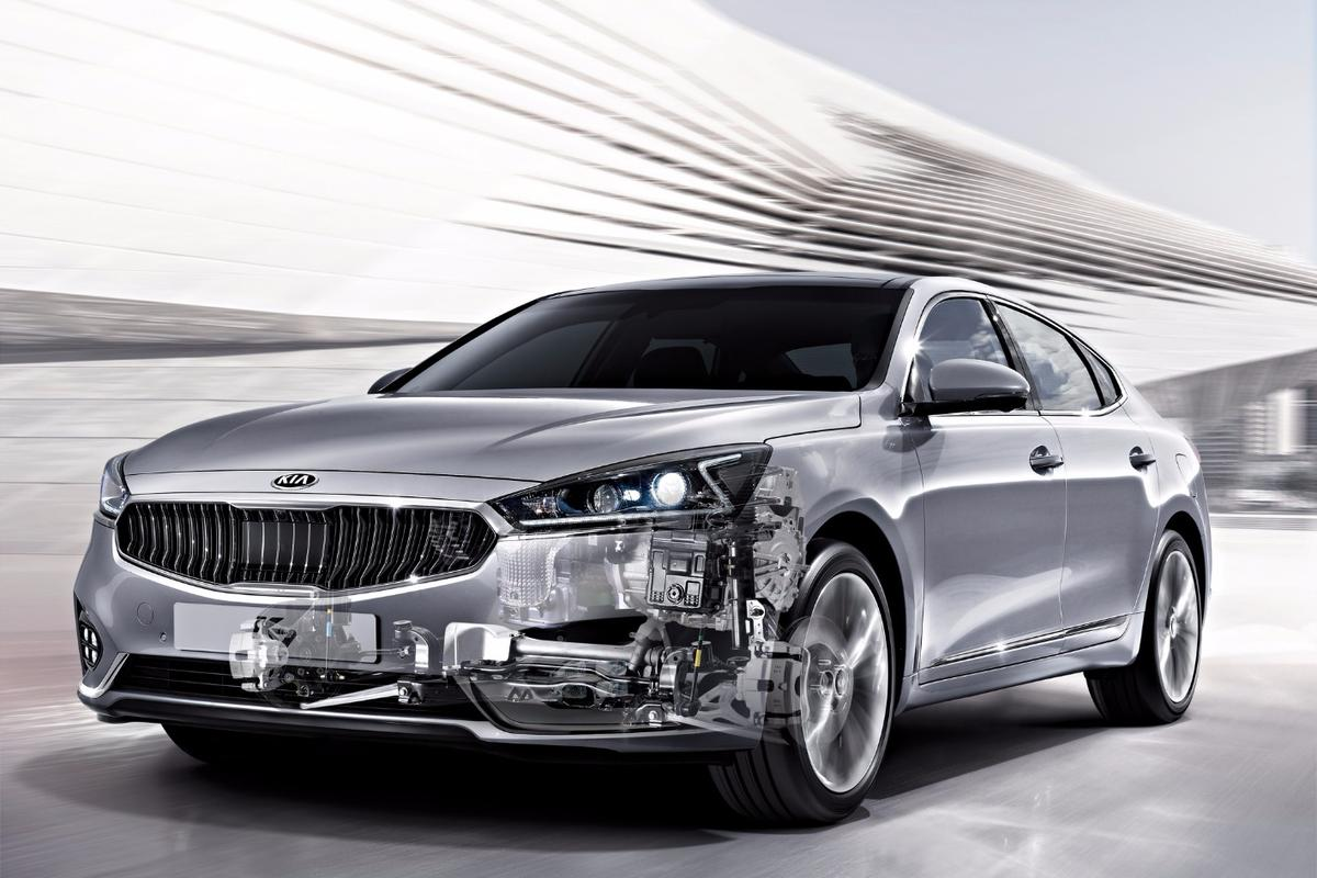 The new Kia Cadenza will be the first car with the new gearbox