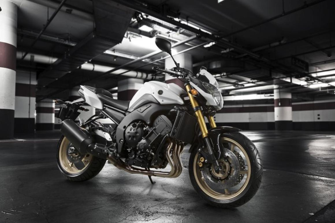 Yamaha's new FZ8