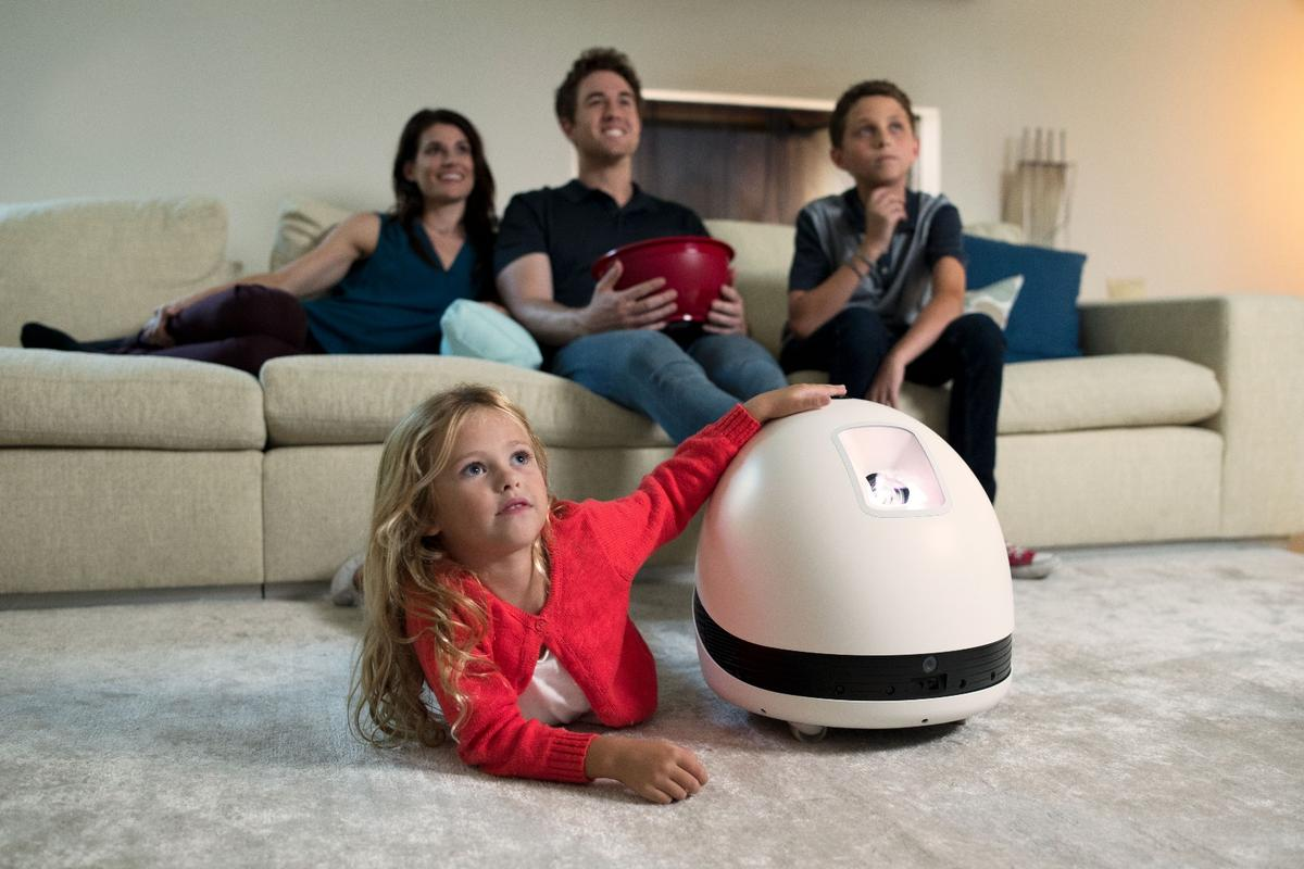Keecker can serve up movie entertainment, stream music and even serve as a home surveillance robot