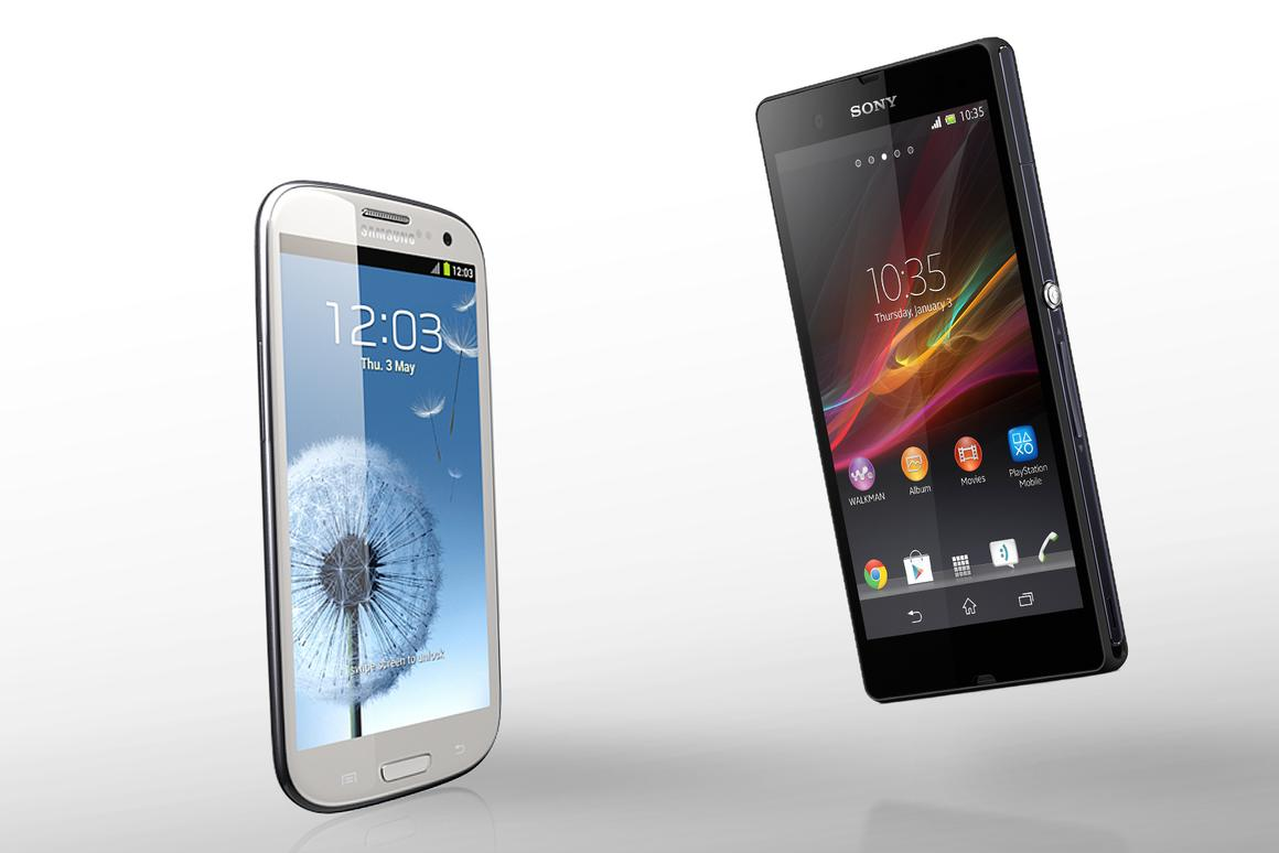 How does Sony's new Xperia Z compare to the Samsung Galaxy S III?