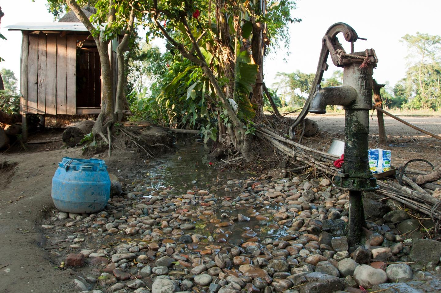 A new chlorine dispenser can help protect against childhood diarrhea in developing countries
