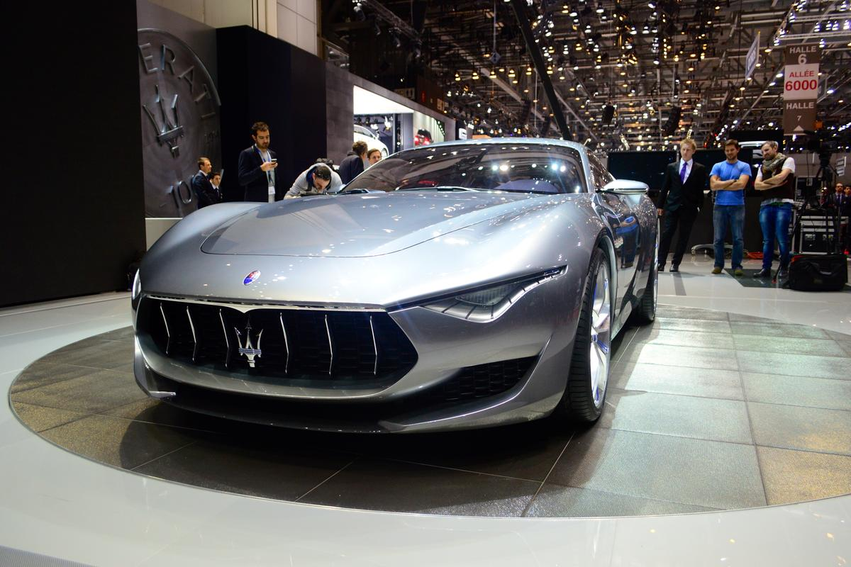 The production Maserati Alfieri will join the line in 2016