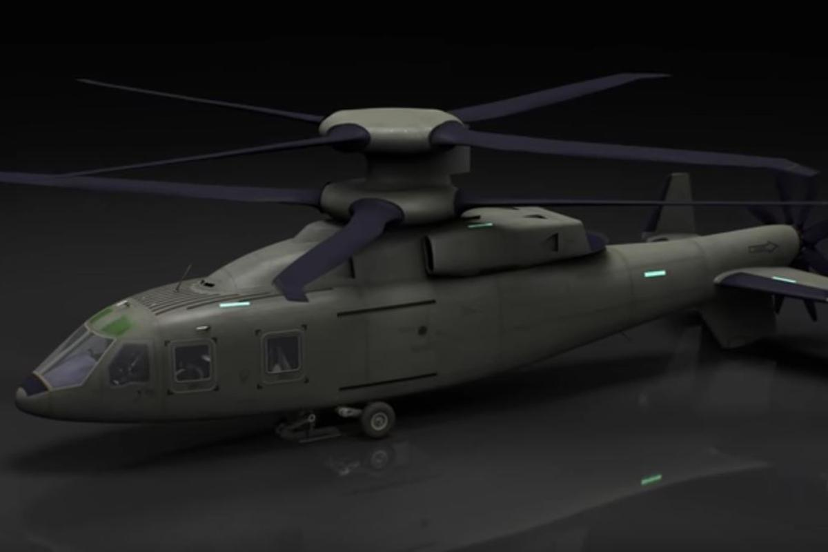 The Sikorsky-Boeing Future Vertical Lift  is based on the X2 technology demonstrator