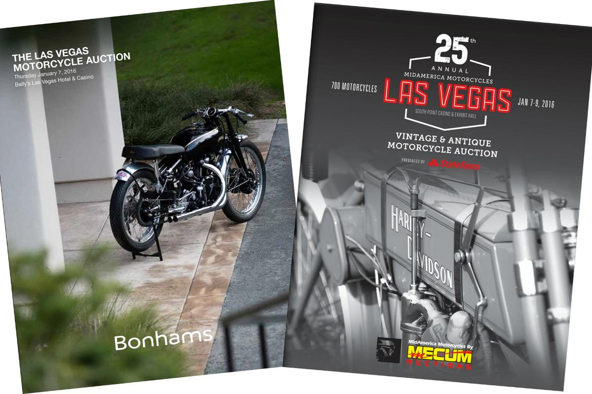 Las Vegas January Motorcycle Auctions