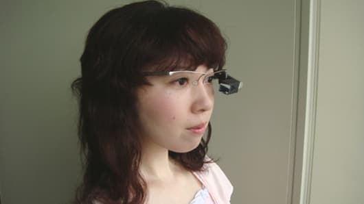 The Tele Scouter prototype wearable retinal display