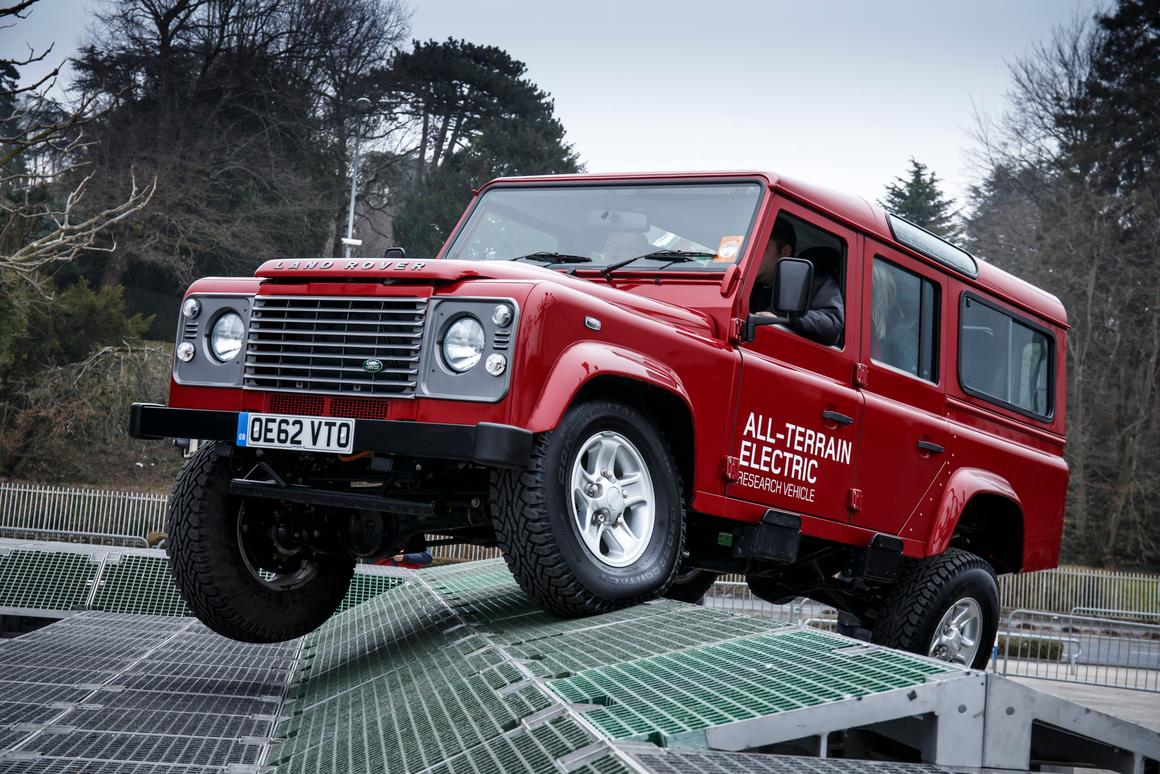 Land Rover's first Electric Defender put through its paces