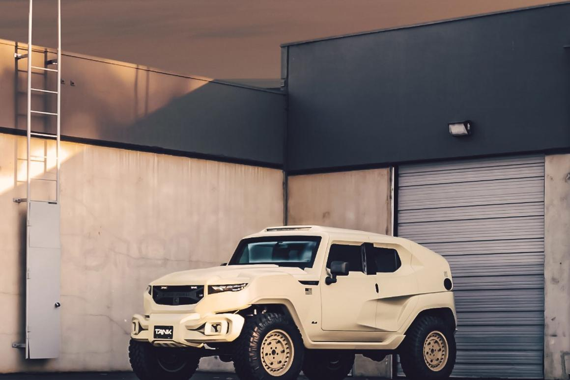 Rezvani Tank Military Edition: The only SUV with a smoke