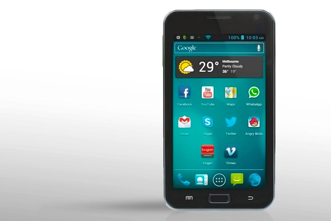 The Kogan Agora smartphone provides mid-range specs for a bargain bin price.