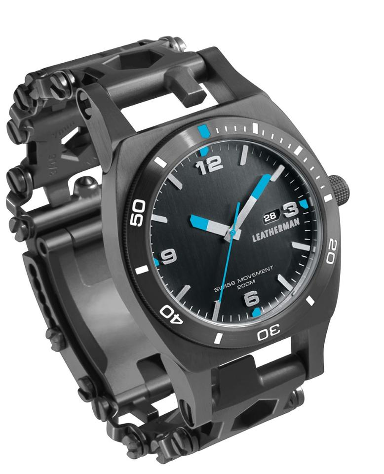 The watch fromLeatherman includes a multitool in its band