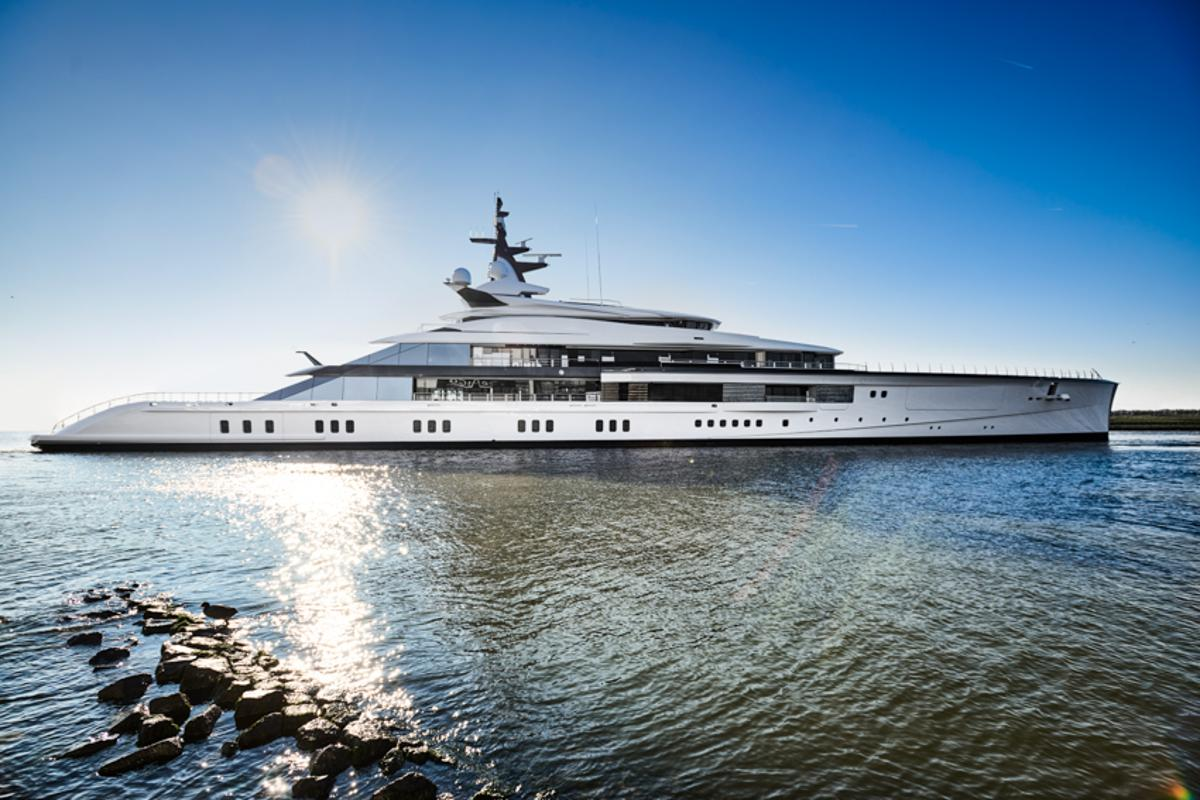 Superyacht builder Oceanco, in collaboration with naval architects Lateral, has adopted a sustainable design approach for its 109-m (357-ft) Bravo Eugenia superyacht