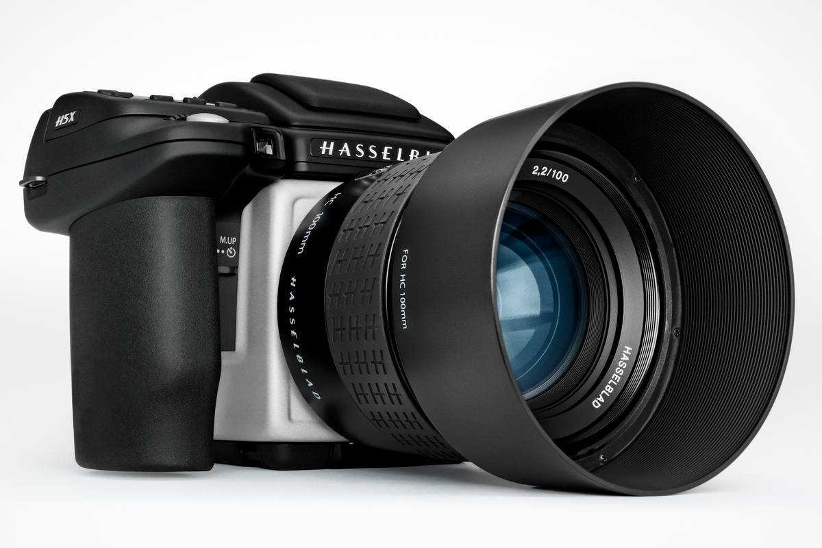 The H5X is a new medium-format system camera body from Hasselblad