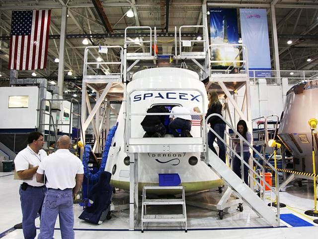 SpaceX recently enlisted NASA astronauts to provide user feedback on a full-sized mock-up of the proposed crew cabin for its Dragon spacecraft