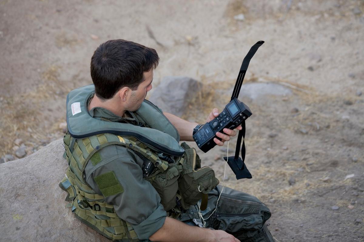 The Combat Survivor Evader Locator (CSEL)