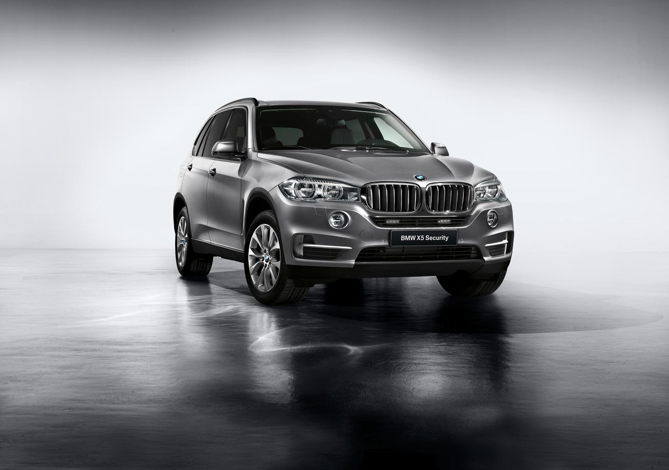 The BMW X5 Security Plus is an armored version of the X5 SUV