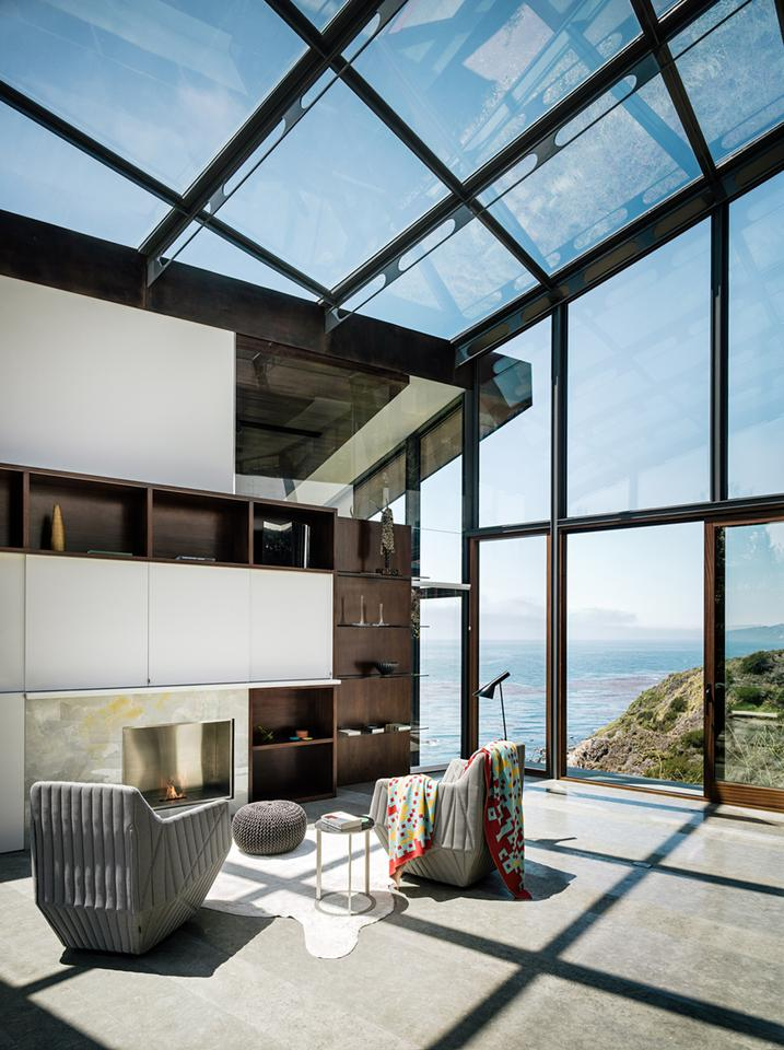 San-Franciscan firm Fougeron Architecture recently completed work on an unusual copper-clad home, dubbed Fall House (Photo: Joe Fletcher Photography)