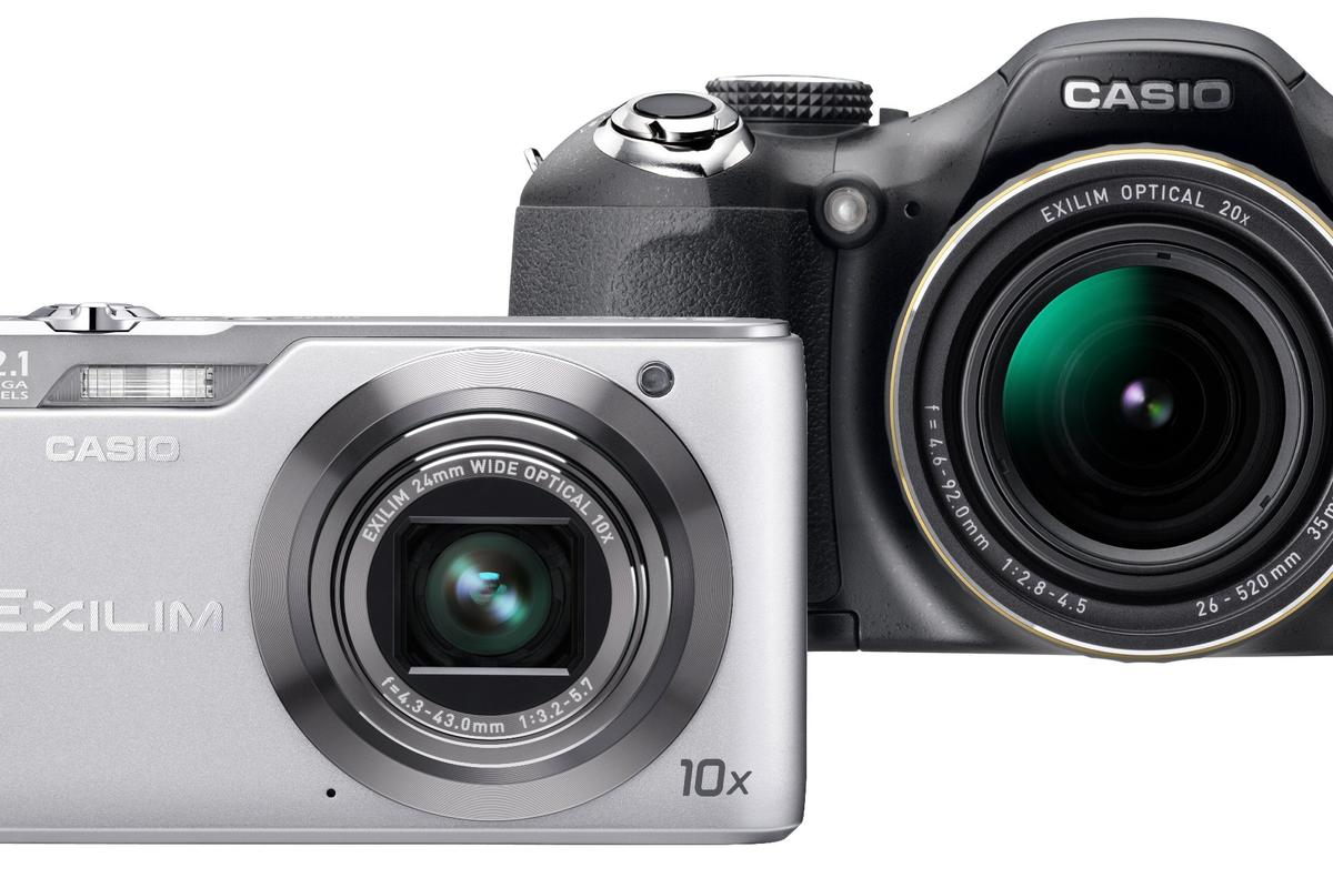 Casio has released a couple of new cameras which aim to crash through common barriers that stand in the way of good photos, such as moving objects in the distance or poor lighting conditions