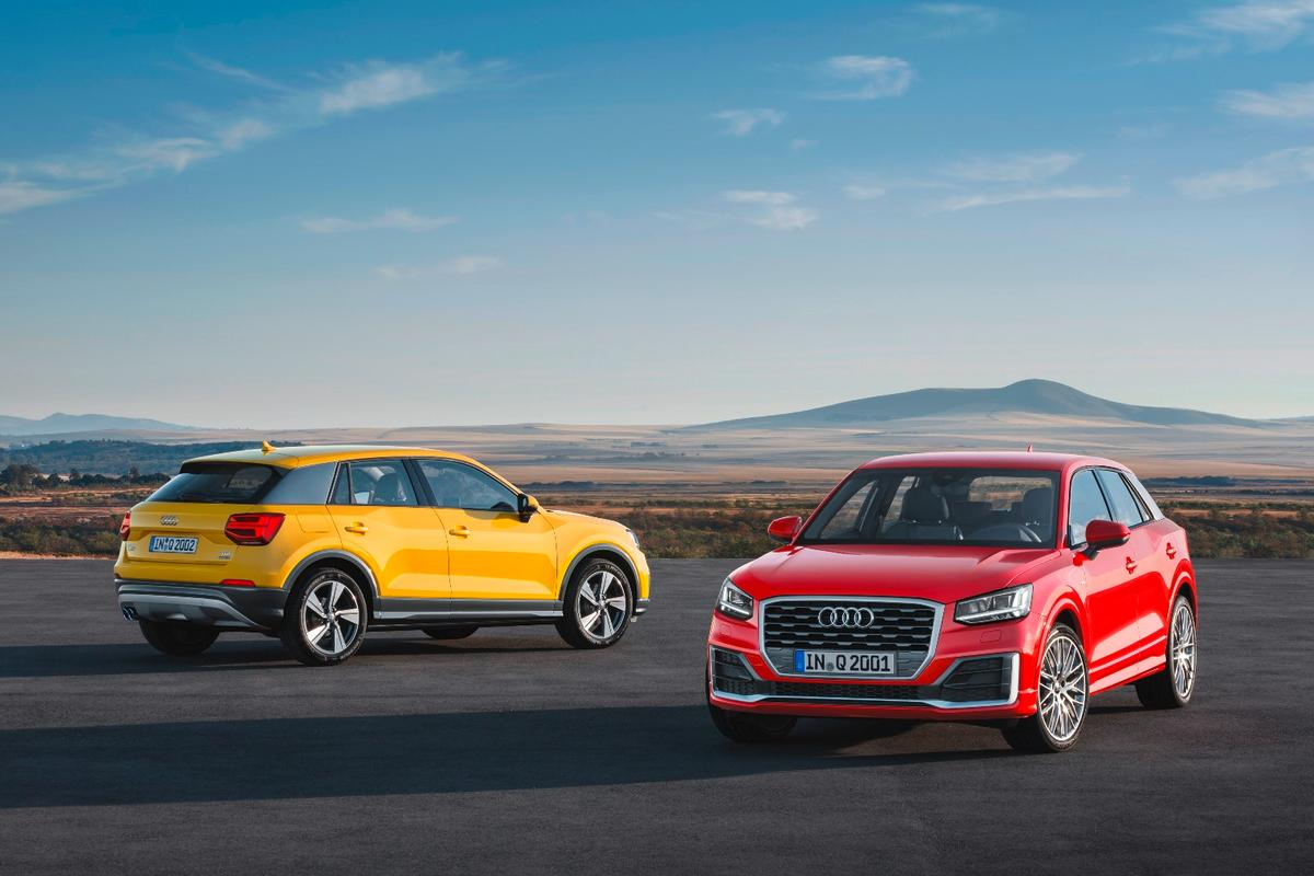 The Q2 slots in under the Q3 in Audi's lineup, and will be available witha range of VW Group small petrol and diesel engines