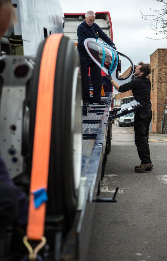 The Bloodhound Supersonic Car project has moved into a new home at SGS Berkeley Green University Technical College in Gloucestershire, England