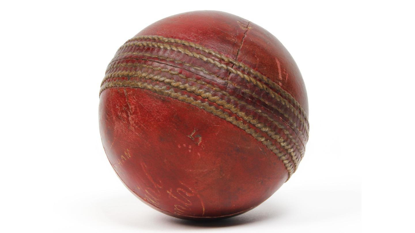 Only one other cricket ball has been pounded as mercilessly in a first class match - the Malcolm Nash-bowled, Gary Sobers six sixes ball.