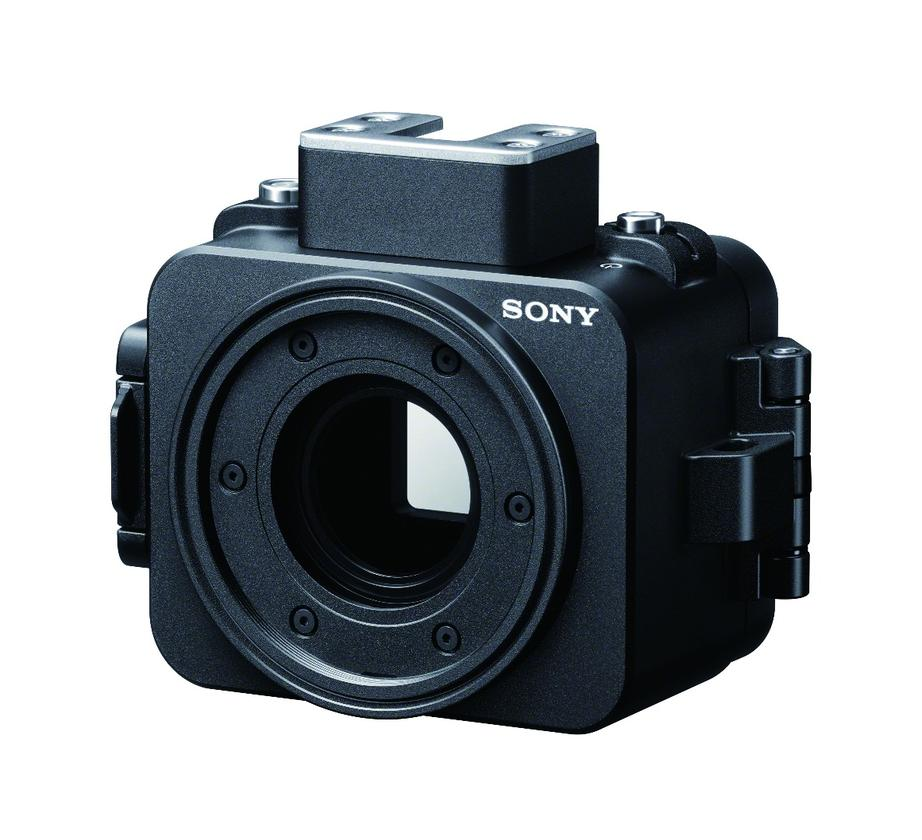The Sony RX0 camera can dive down to depths on 100 m when encased in the new MPK-HSR1 housing